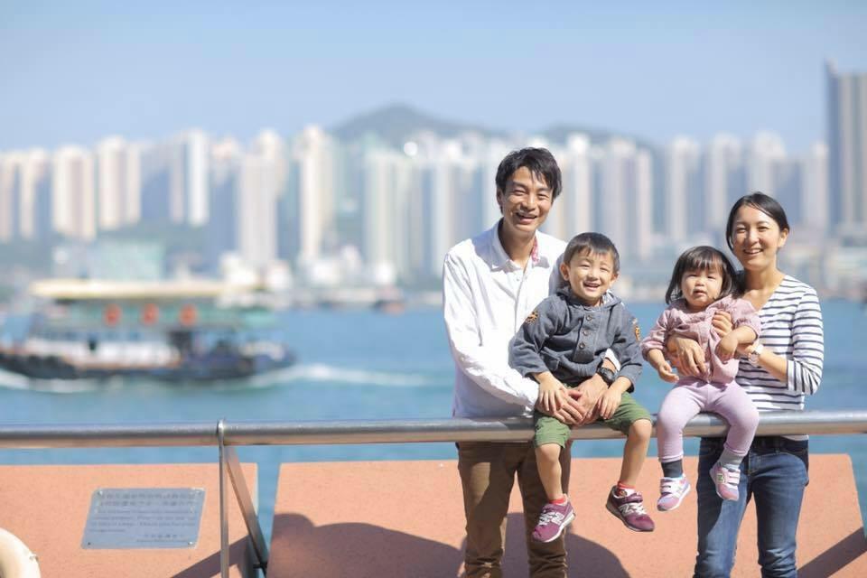 香港に住んでいました