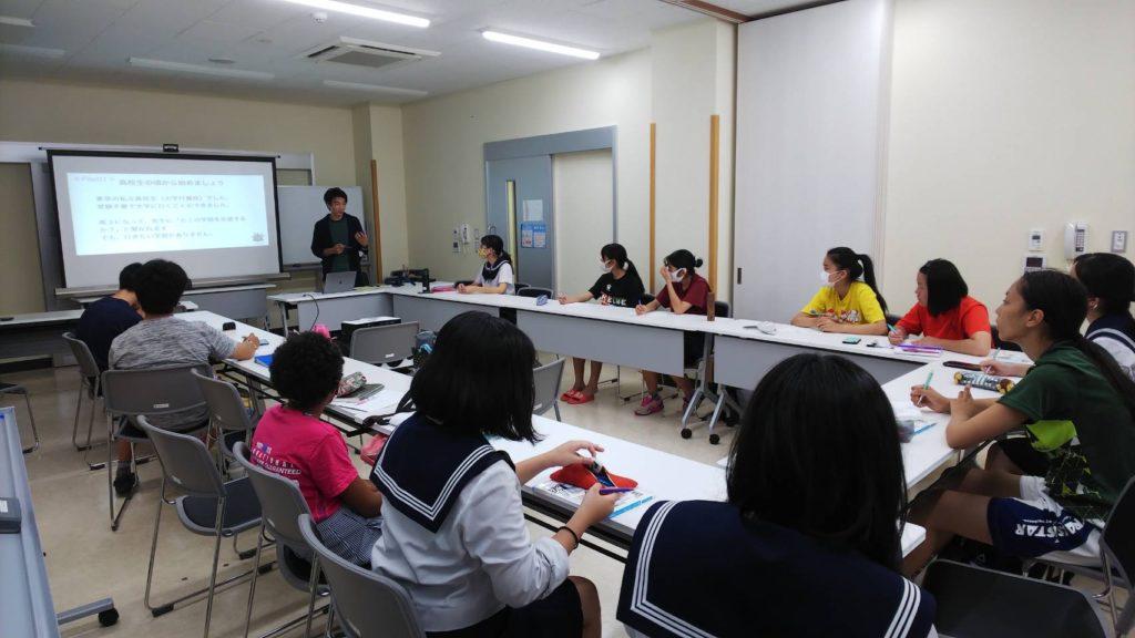 石垣島の高校生向けに講演会